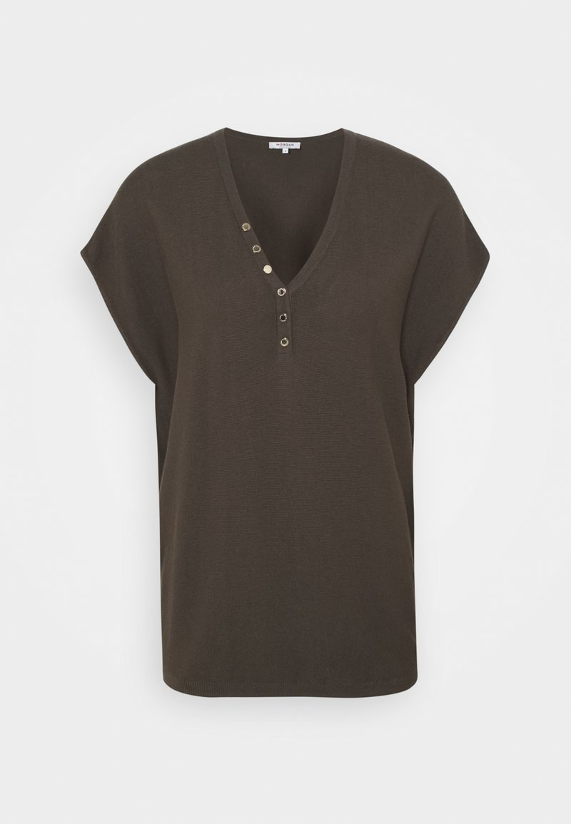 Morgan - Basic T-shirt - thym