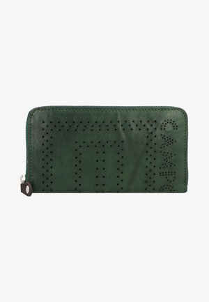 Wallet - green bottle