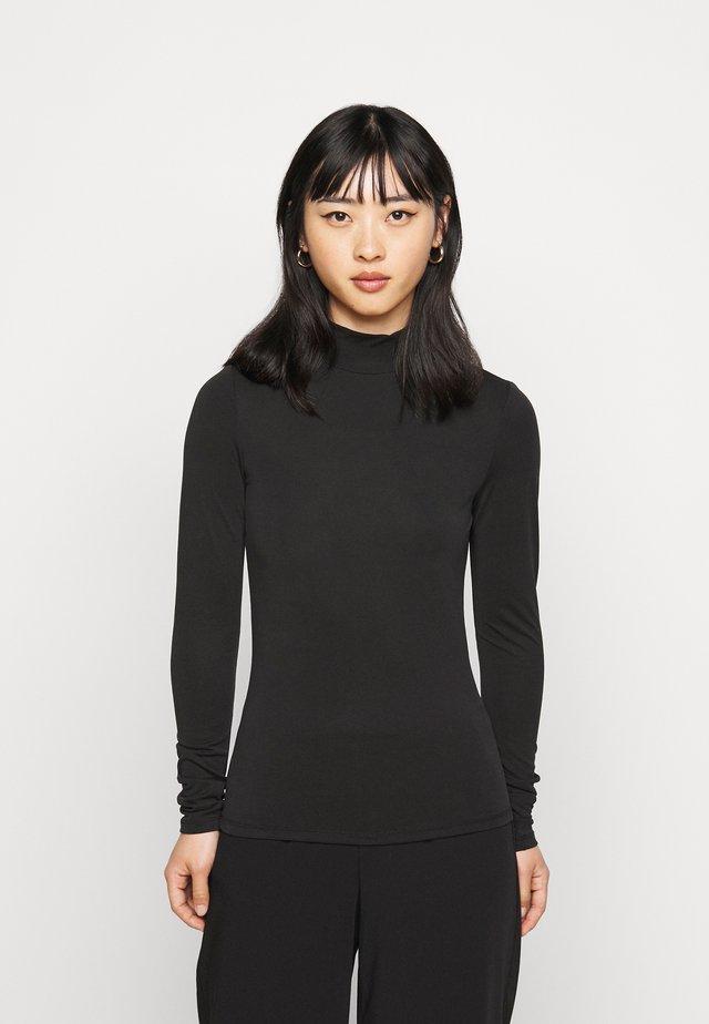 OBJCAROLINE MATHILDE - Maglietta a manica lunga - black