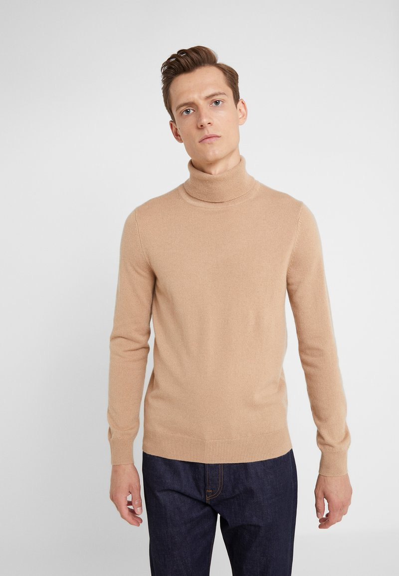 FTC Cashmere - ROLLNECK - Pullover - almond