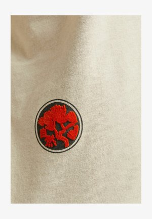 T-shirt imprimé - camel