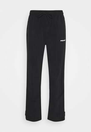 SHADOW WIDE TRACKPANTS - Trousers - black