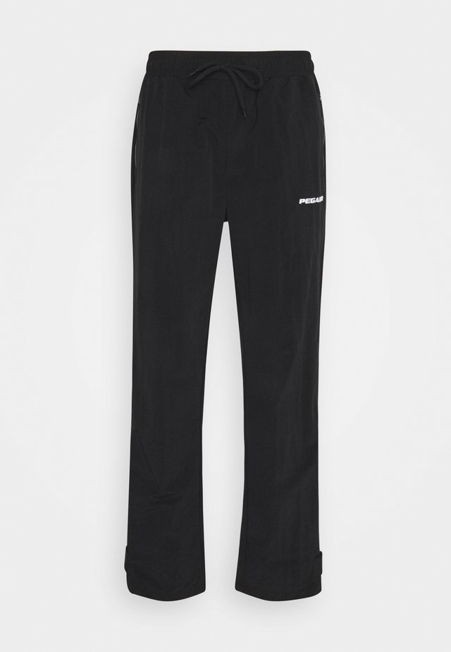 SHADOW WIDE TRACKPANTS - Broek - black