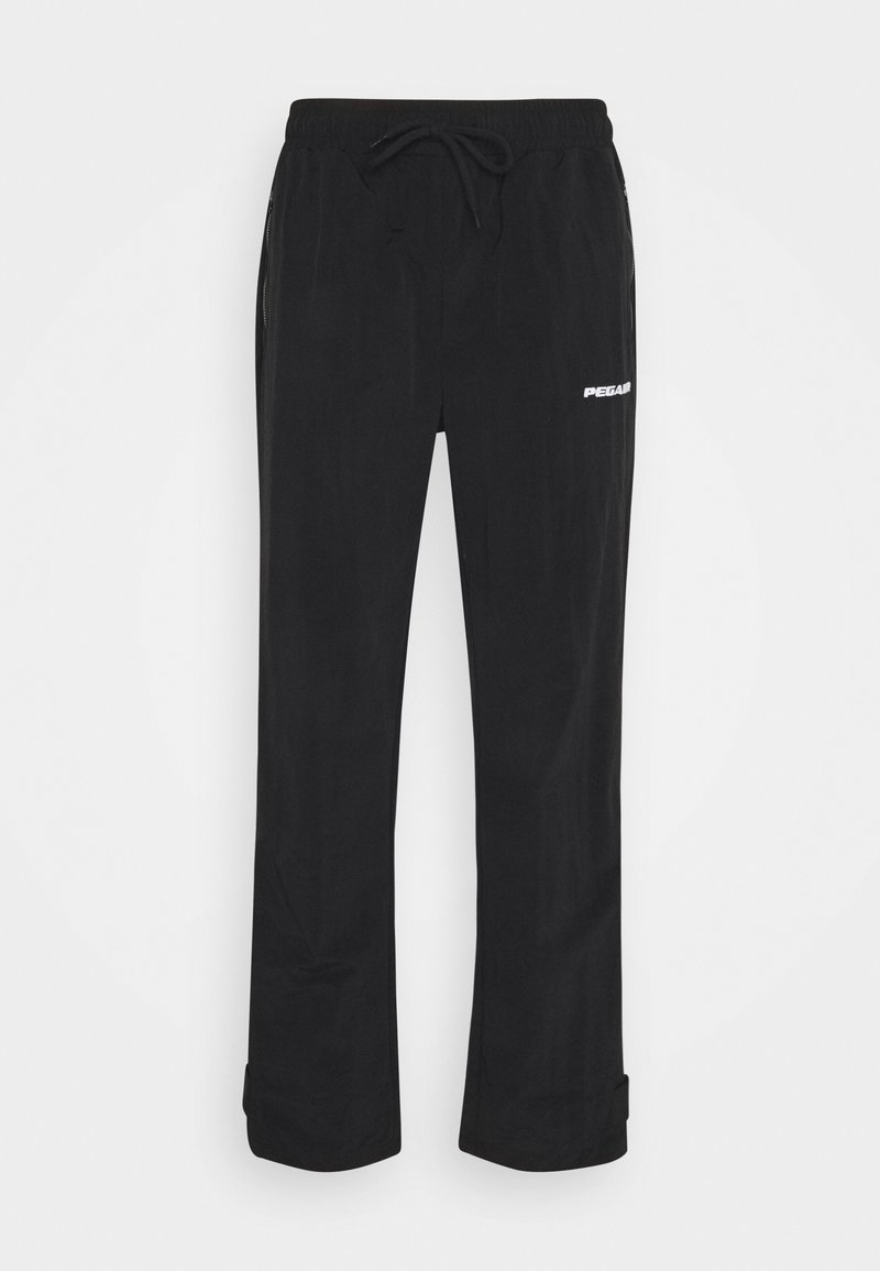 Pegador - SHADOW WIDE TRACKPANTS - Kalhoty - black