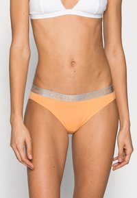 Calvin Klein Underwear - 3 PACK - Briefs - grey heather/pale blue/flambe - 0