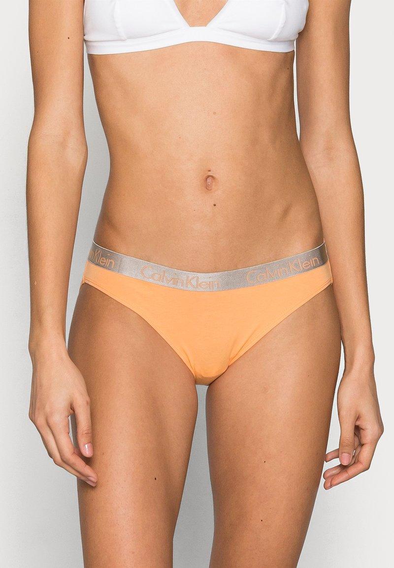 Calvin Klein Underwear - 3 PACK - Briefs - grey heather/pale blue/flambe