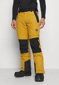 Brunotti - ANDRAS MENS SNOWPANTS - Zimní kalhoty - camel brown - 0