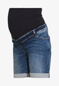 LOVE2WAIT - Denim shorts - stone wash - 4