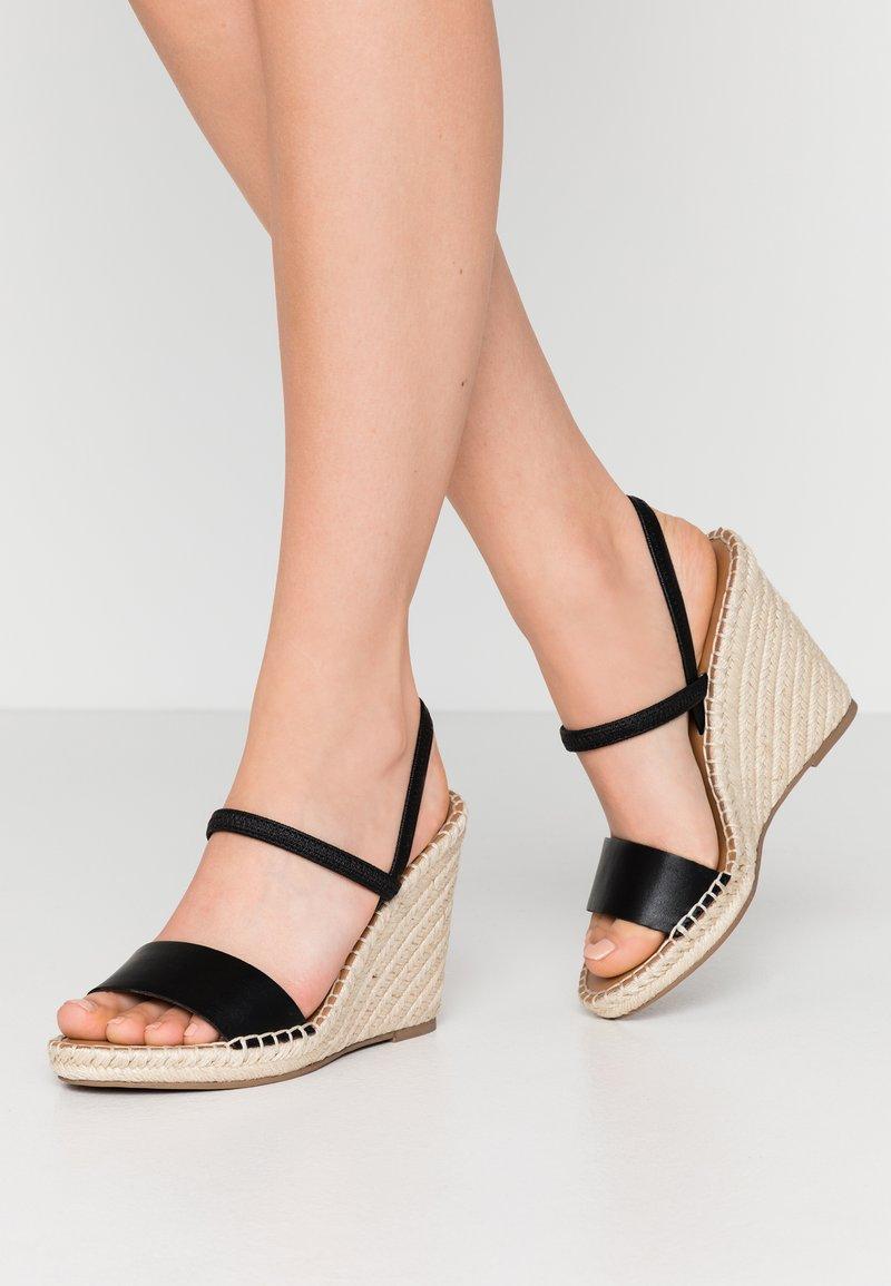 Steve Madden - MCKENZIE - High heeled sandals - black