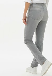 BRAX - STYLE MARY - Slim fit jeans - used summer grey - 2