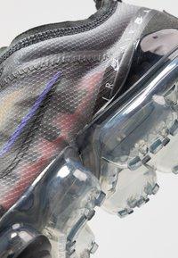 Nike Sportswear - AIR VAPORMAX 2019 SE - Trainers - black/psychic purple/flash crimson/university gold/kinetic green - 5