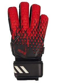adidas Performance - UNISEX - Goalkeeping gloves - black/actred - 1