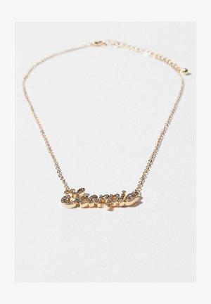 SCORPION ZODIAC  - Necklace - gold coloured