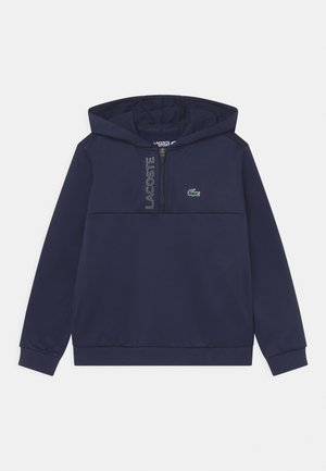 TECH HOODY ZIP UNISEX - Sweatshirt - navy blue