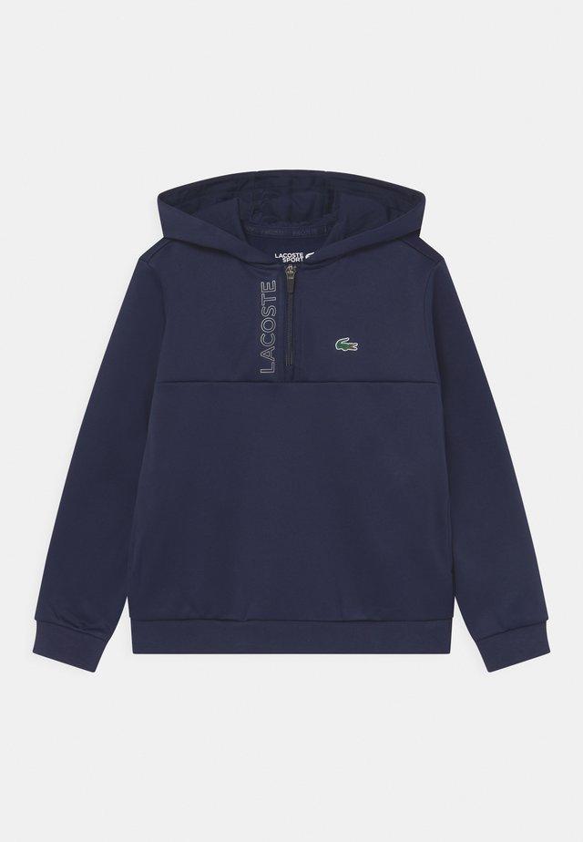 TECH HOODY ZIP UNISEX - Sweatshirt - navy blue