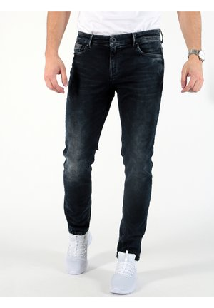 MARCEL - Straight leg jeans - blau-meliert