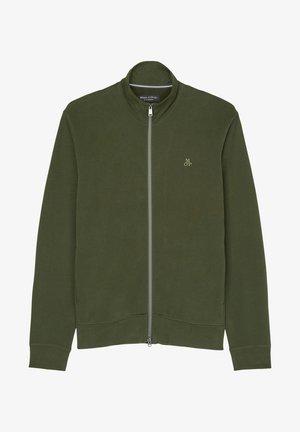 LONG SLEEVE - Zip-up sweatshirt - burnt leaf