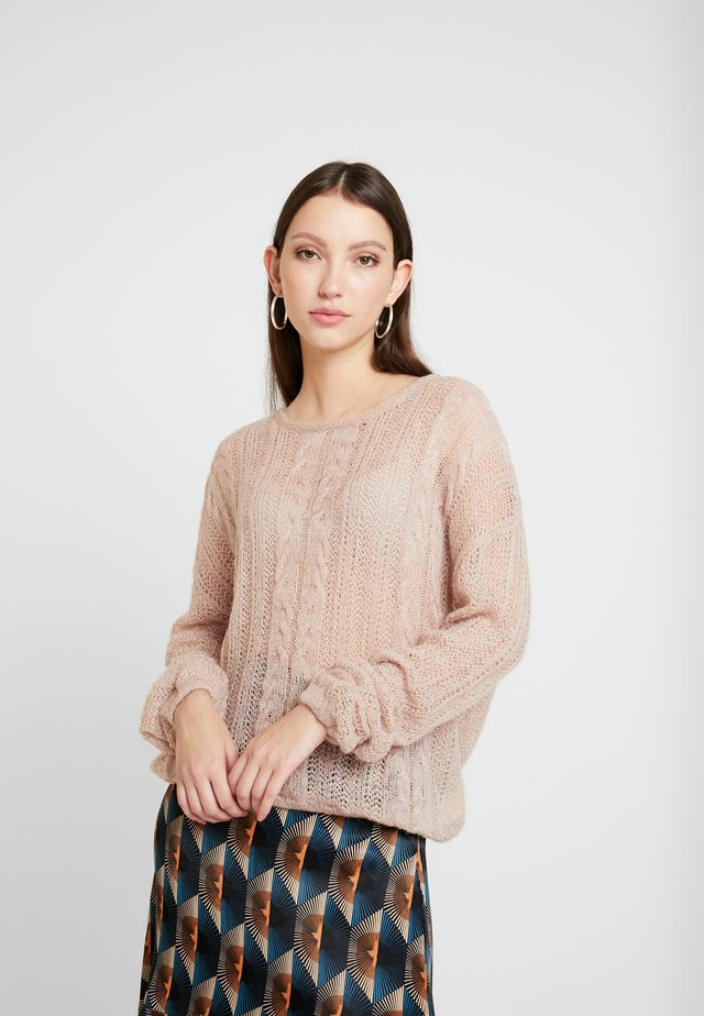 SOFT - Pullover - off-white