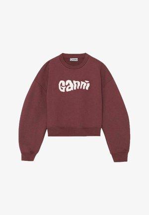 ISOLI - Sweatshirt - burgundy