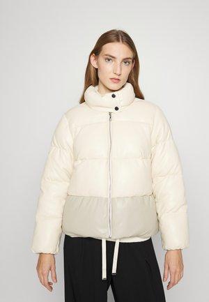 SHARON VEGAN PUFFER JACKET - Winter jacket - ecru/beige