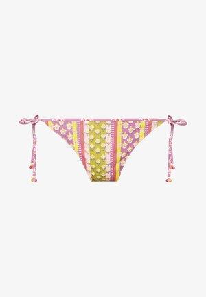 SIDE BRIEF REVERSIBLE - Bikini bottoms - aubergine