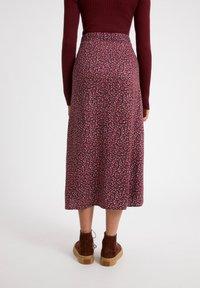 ARMEDANGELS - MADALINAA - A-line skirt - ruby red - 2