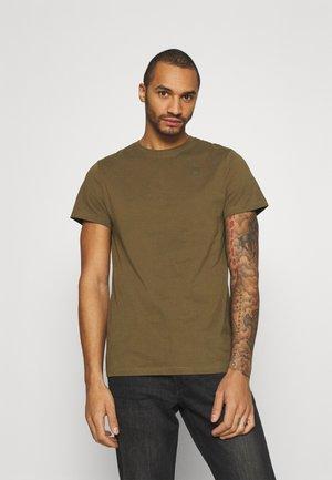 BASE-S R T S\S - T-shirt basic - wild olive