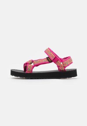 ORIGINAL UNIVERSAL UNISEX - Walking sandals - raspberry sorbet