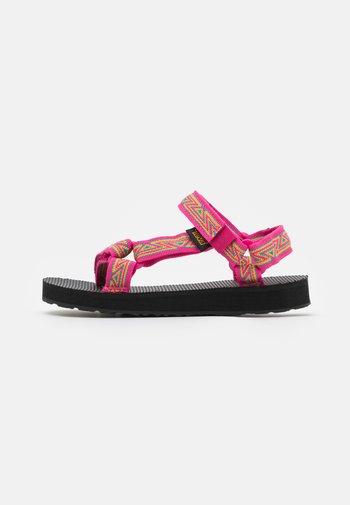 ORIGINAL UNIVERSAL UNISEX - Chodecké sandály - raspberry sorbet
