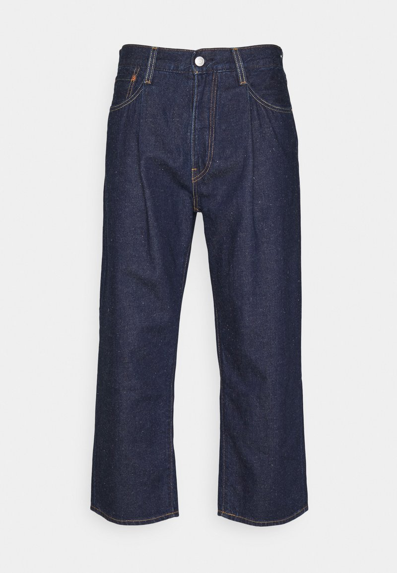 Levi's® - STAY LOOSE PLEATED CROP - Jeans baggy - dark indigo