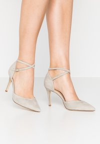 Anna Field - LEATHER PUMPS - High heels - grey - 0
