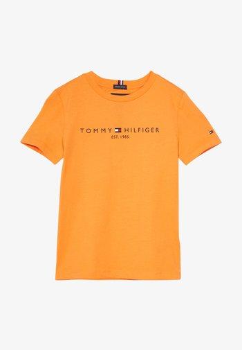 ESSENTIAL LOGO UNISEX - Print T-shirt - orange