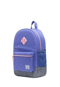 Herschel - School bag - dusted peri heat press polka/raven crosshatch - 2
