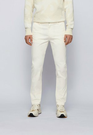 RICE3-D SLIM FIT - Chinos - natural