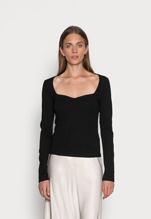 DERVAL - Long sleeved top - black