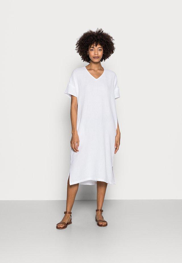 POLINA - Korte jurk - white