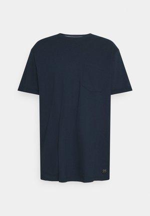 BHNASIR ORGANIC TEE - Basic T-shirt - dress blues