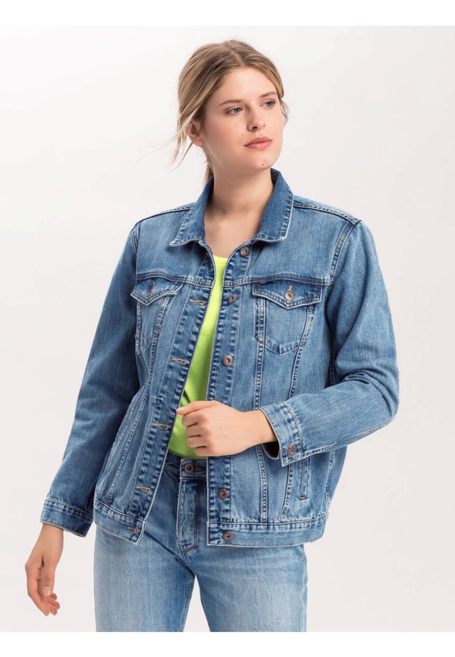 PAUL SCHRADER - Denim jacket - blue