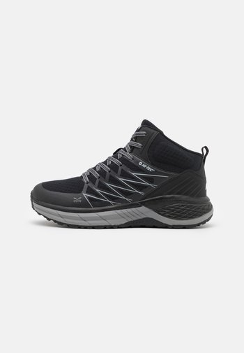 TRAIL DESTROYER MID - Chaussures de marche - black/silver