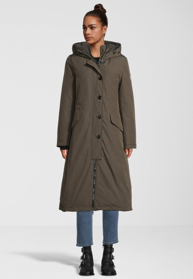 MANTEL CLAUDI - Winter coat - dark olive