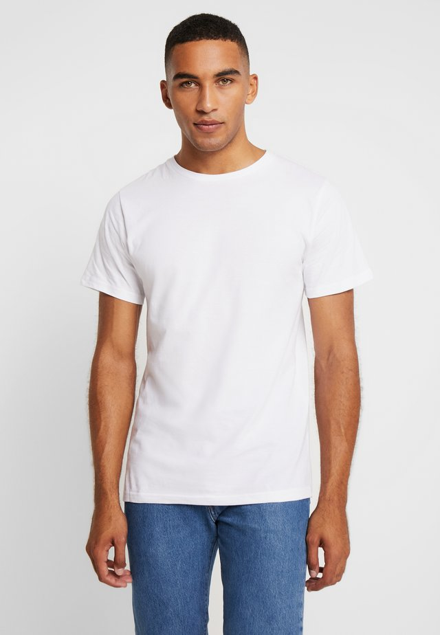 STOCKHOLM - T-shirts basic - white
