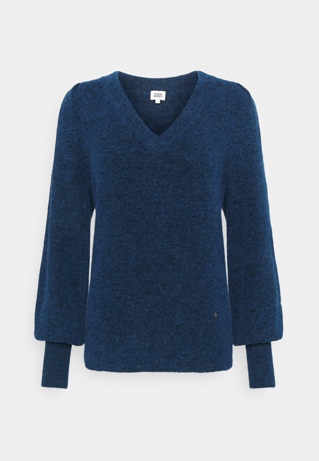 VALERIA SWEATER - Trui - dark vivid blue