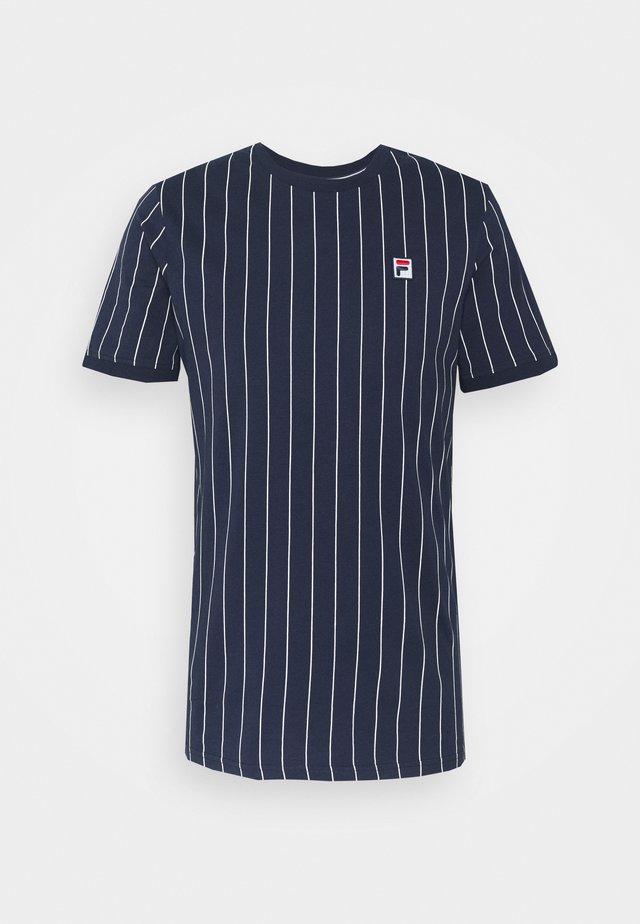 RINGER TEE - T-shirt print - black iris