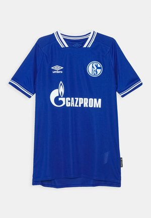 FC SCHALKE 04 HOME UNISEX - Club wear - deep surf/brilliant white