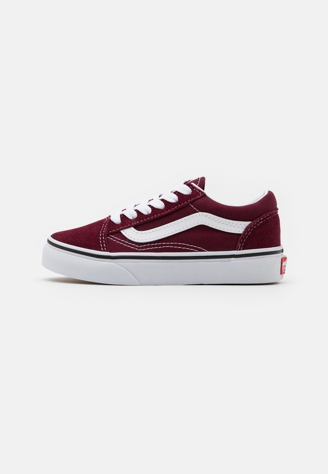 OLD SKOOL UNISEX - Sneakers laag - port royale/true white