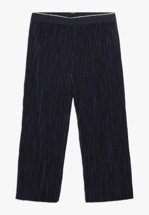 TROUSERS - Spodnie materiałowe - dark blue