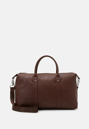 FAUX LEATHER - Weekendbag - ark brown
