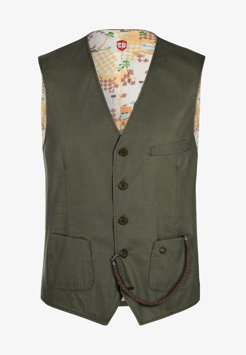 CG – Club of Gents - Suit waistcoat - green