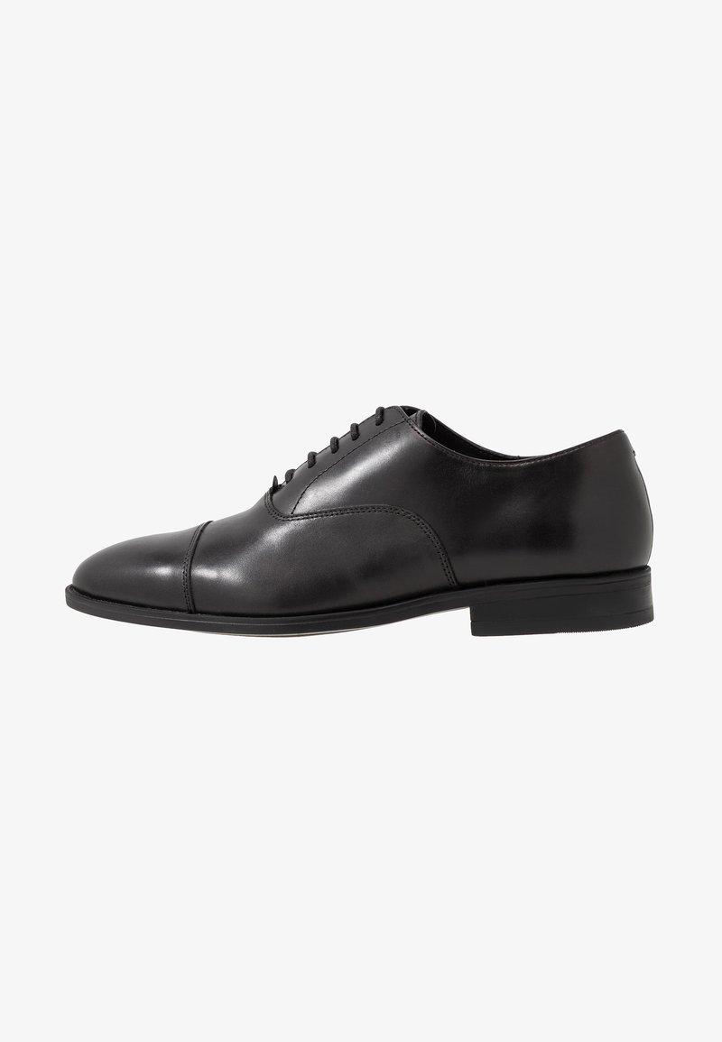Office - MEMO OXFORD TOE CAP - Business sko - black