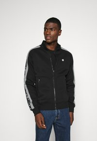 G-Star - STRIPE JACKET - Zip-up hoodie - black - 0